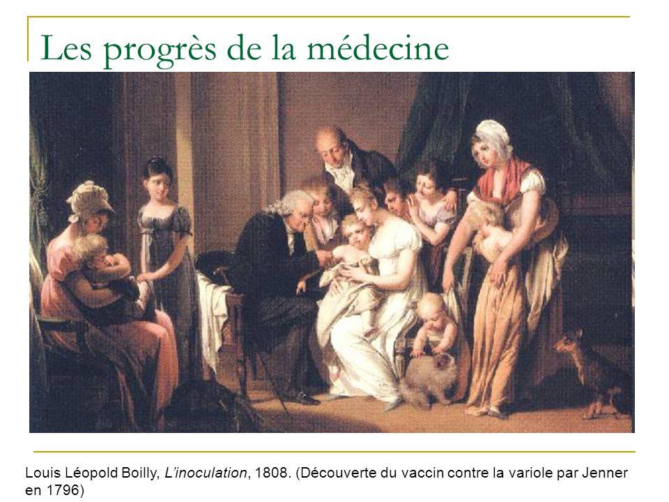 Les progrès de la médecine Louis Léopold Boilly, Linoculation, 1808.