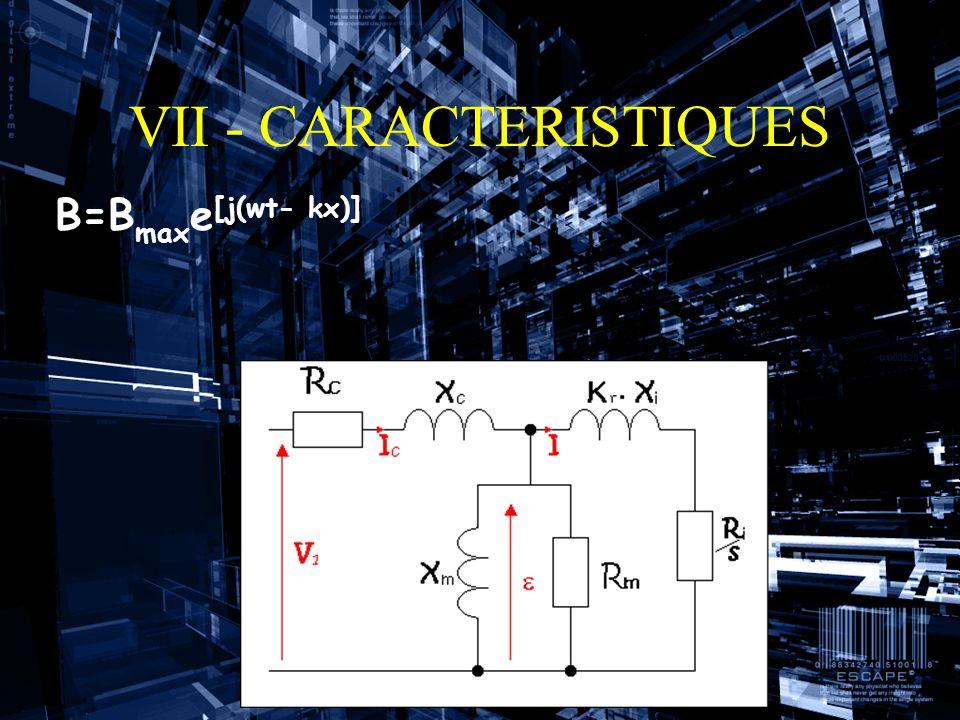 Bilan des puissances Puissance fournie au rotor : Pr=Pe-Pjs-Pf (Puissance rotor=P entr é e-pertes joules stator-pertes fers) Pertes joules rotor : Pjr=sPr Pertes joules stator : Pjs=3R c I c 2 (3x r é sistance inducteurs x intensit é inducteur au carr é ) Puissance m é canique : Pm=Pr-Pjr ( P m é ca.