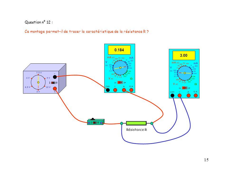15 4,5 V12 V 3 V 9 V6 V 7,5 V + - 10 10 10 A 3.00 Com mA DC A OffOn 10A 2A 200 20 V 2 V AC mA AC V DC 2M 20k 2k 200 0.2 2 200 20 2 0.2 2 20 200 10A 2A