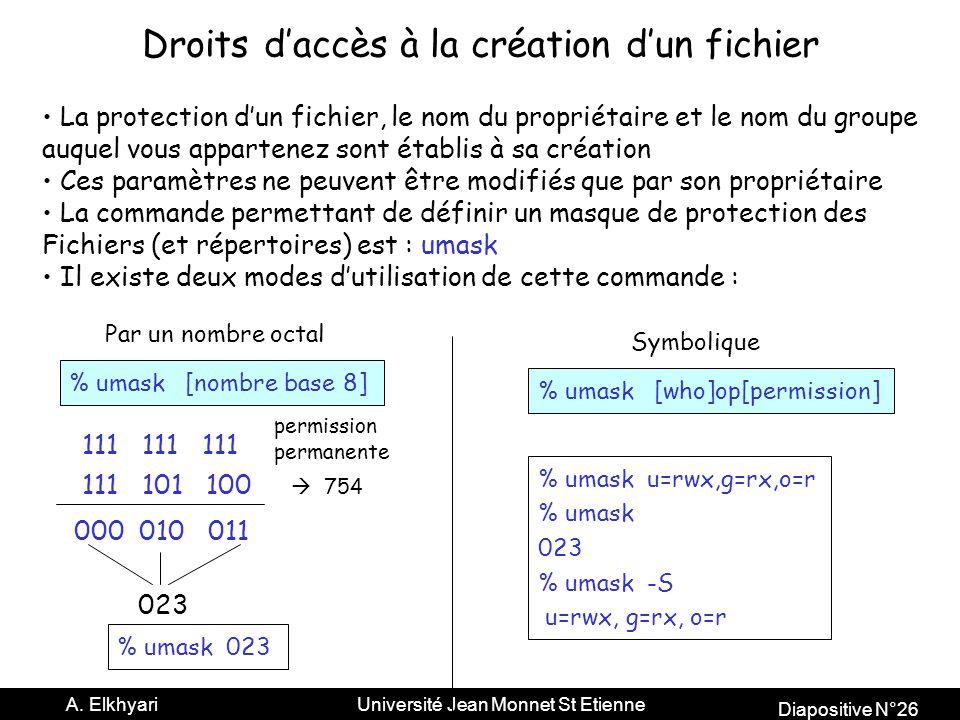 Diapositive N°26 A.