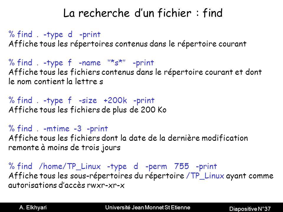 Diapositive N°37 A.