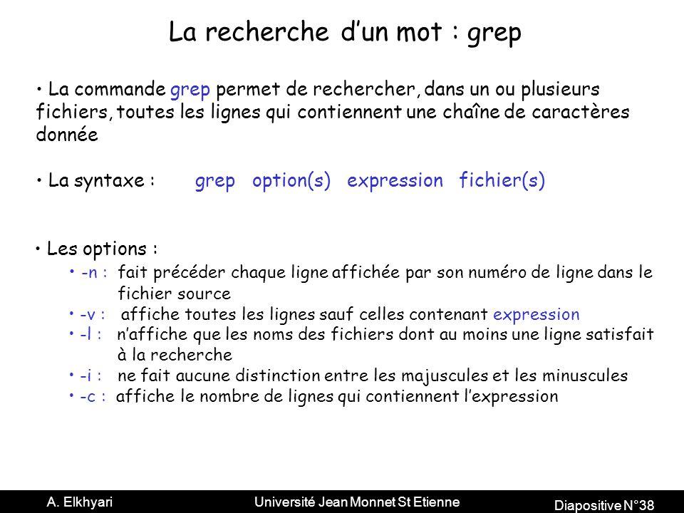 Diapositive N°38 A.