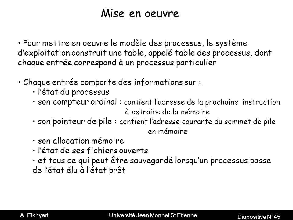 Diapositive N°45 A.