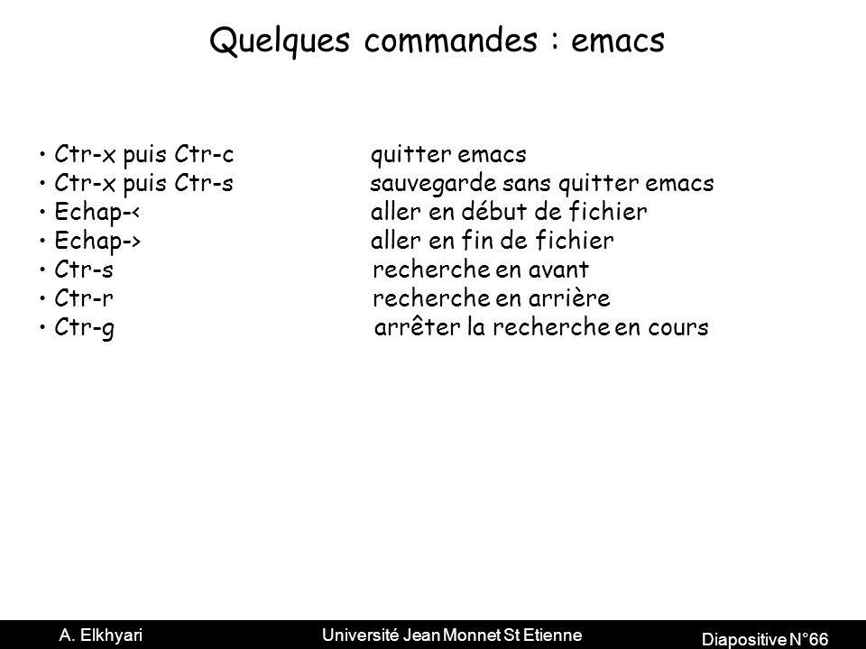 Diapositive N°66 A.