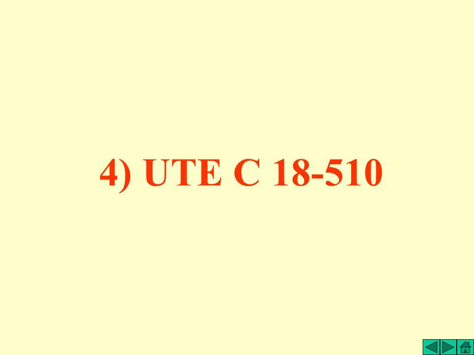 4) UTE C 18-510