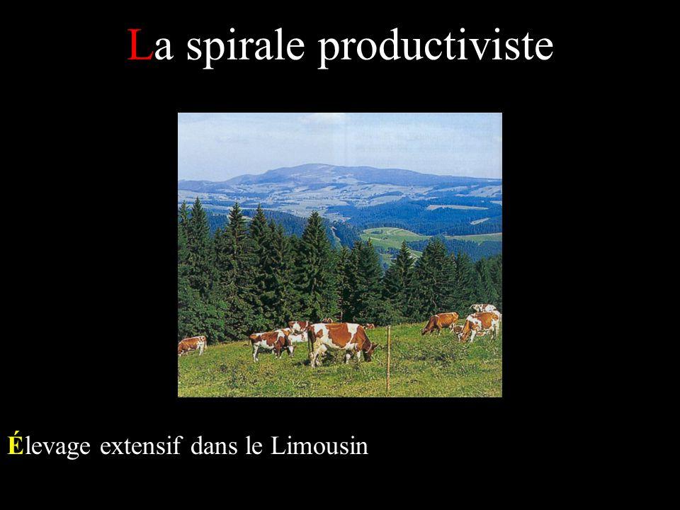 La spirale productiviste Élevage extensif dans le Limousin