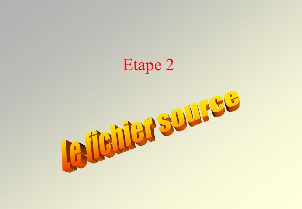 1 Header Files Add file 2 Choisir le fichier dans le dossier du projet