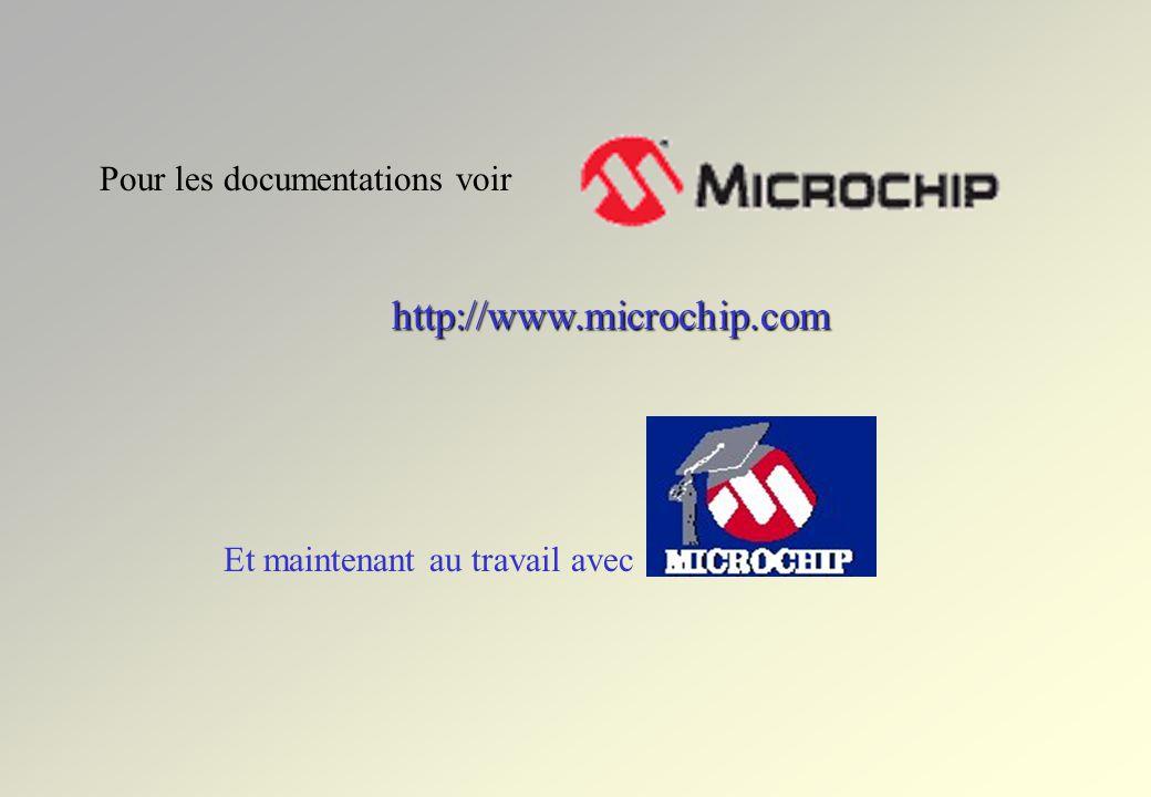 Choix SFR ou mémoire 4 visualisations différentes droit droit Symbole Taille : 8 bits 16 bits 24 bits 32 bits Format : hexadécimal Binaire Décimal ASC