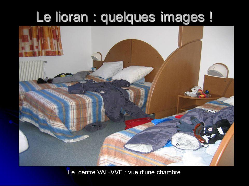 Le lioran : quelques images ! Le centre VAL-VVF : vue dune chambre