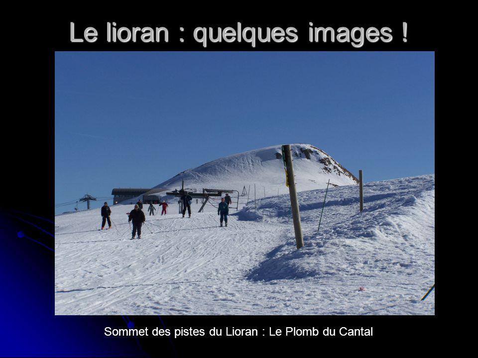 Le lioran : quelques images ! Sommet des pistes du Lioran : Le Plomb du Cantal