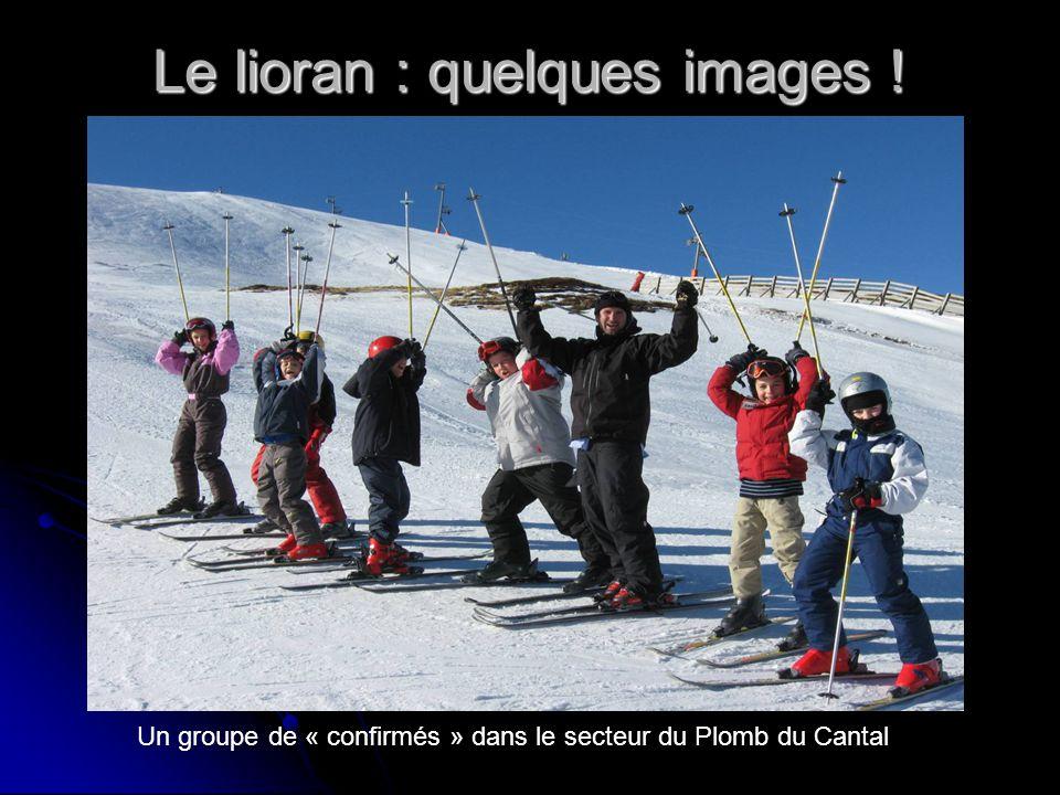 Le lioran : quelques images ! Un groupe de « confirmés » dans le secteur du Plomb du Cantal