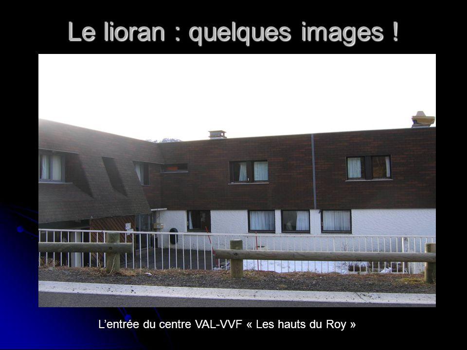 Le lioran : quelques images ! Lentrée du centre VAL-VVF « Les hauts du Roy »