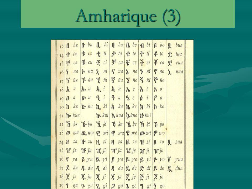 Amharique (3)