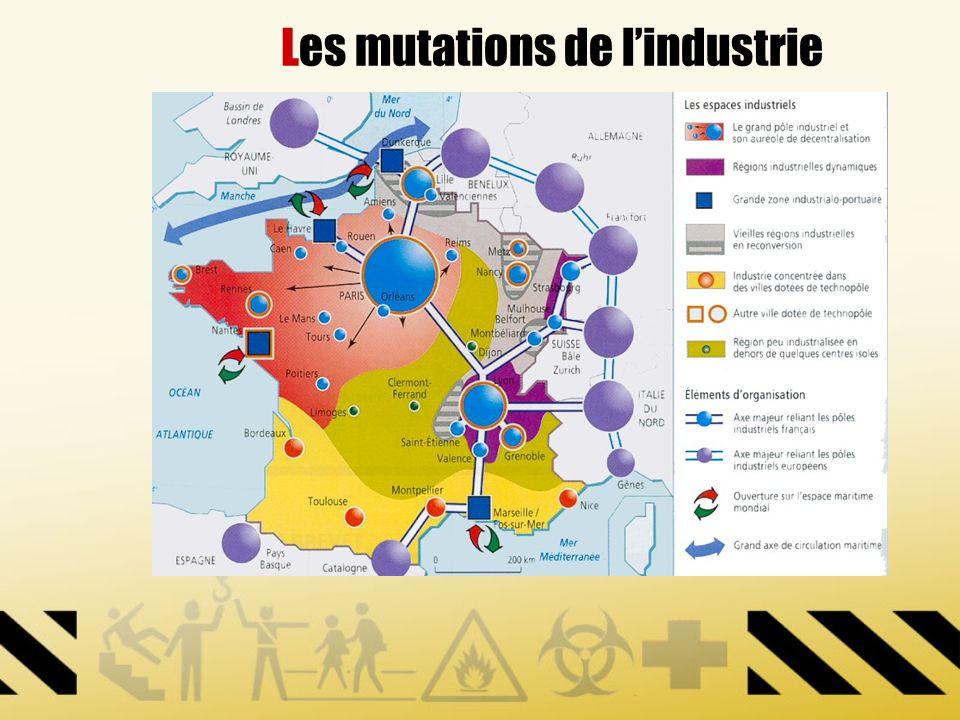Les mutations de lindustrie