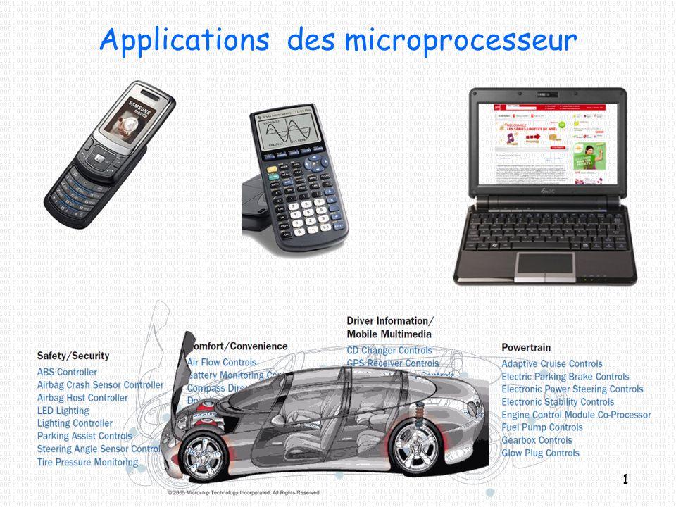 Applications des microprocesseur 1