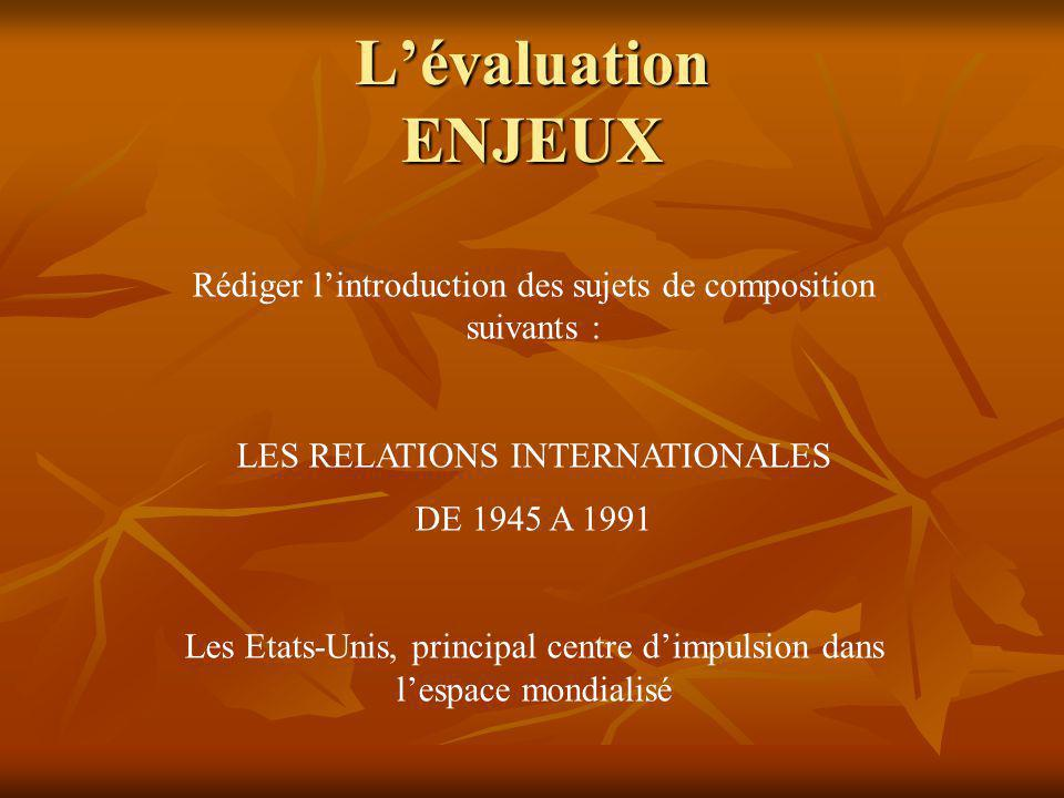 Exemple dune évaluation SOMMATIVE