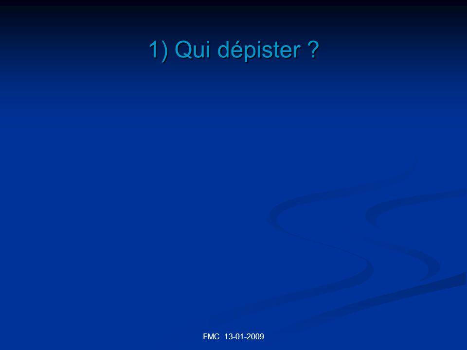 FMC 13-01-2009 EN CAS DE FRACTURE Densitométrie T < - 2,5 -2,5 < T -1 T > -1