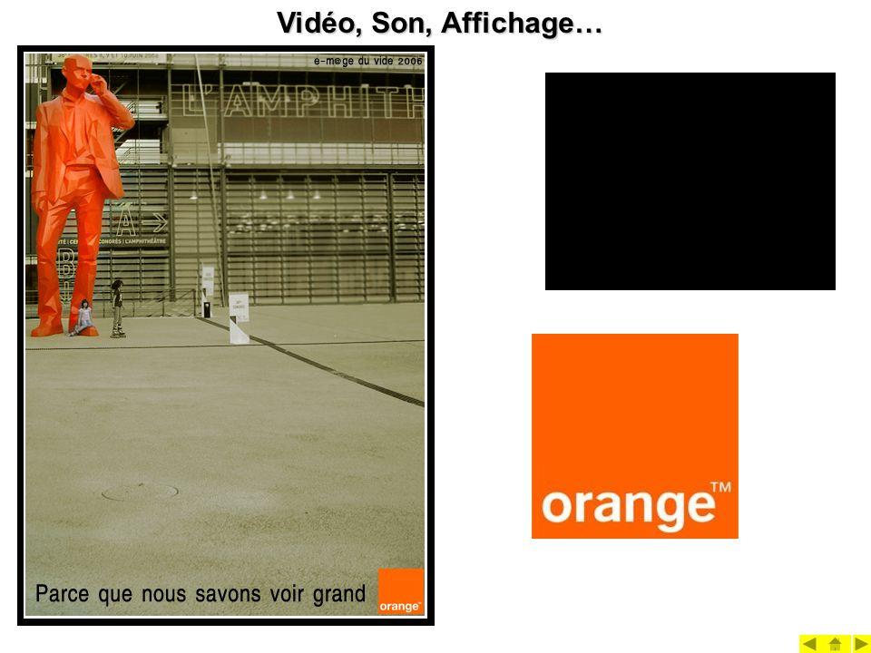 Vidéo, Son, Affichage…