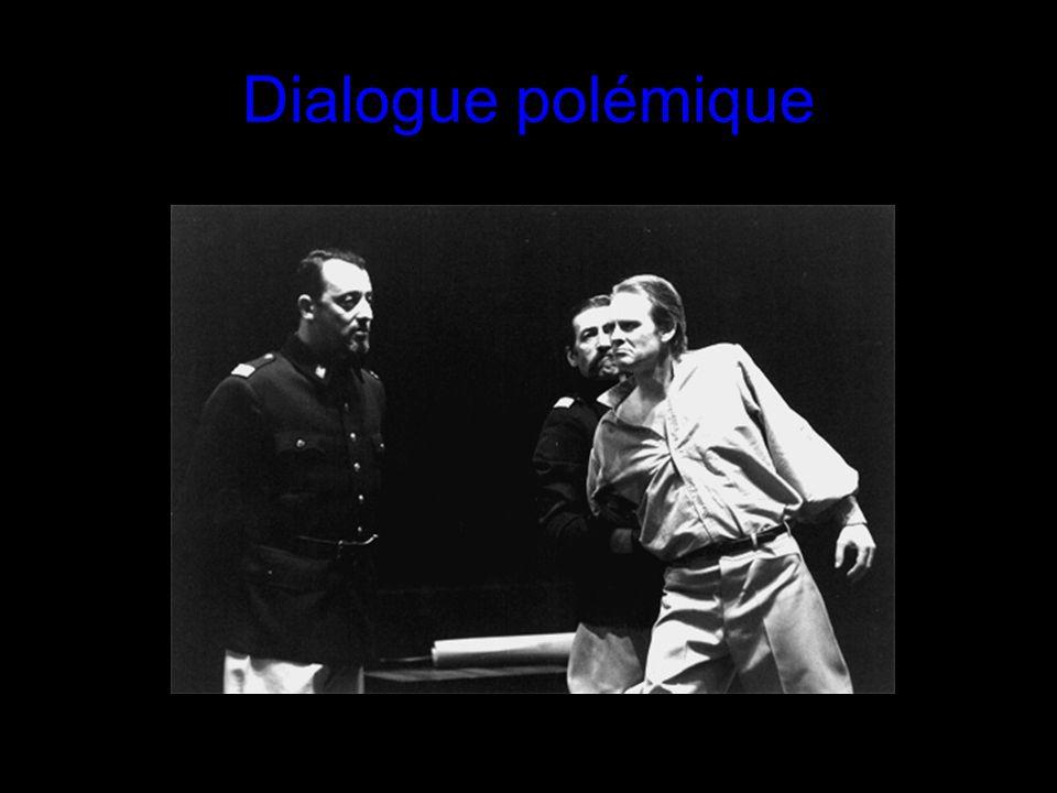 Dialogue polémique