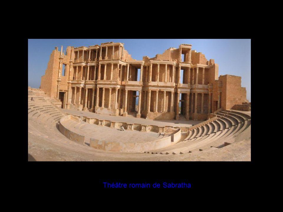 Théâtre romain de Sabratha