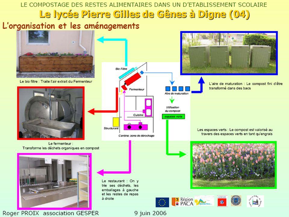 47 Grand Dole-Groupe déchets Pascal Blain 14 Octobre 2008 Le lycée Pierre Gilles de Gênes à Digne (04)