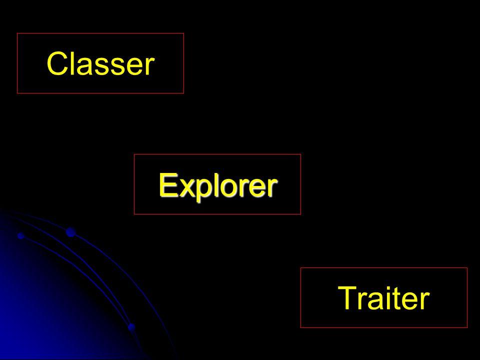 Explorer Classer Traiter