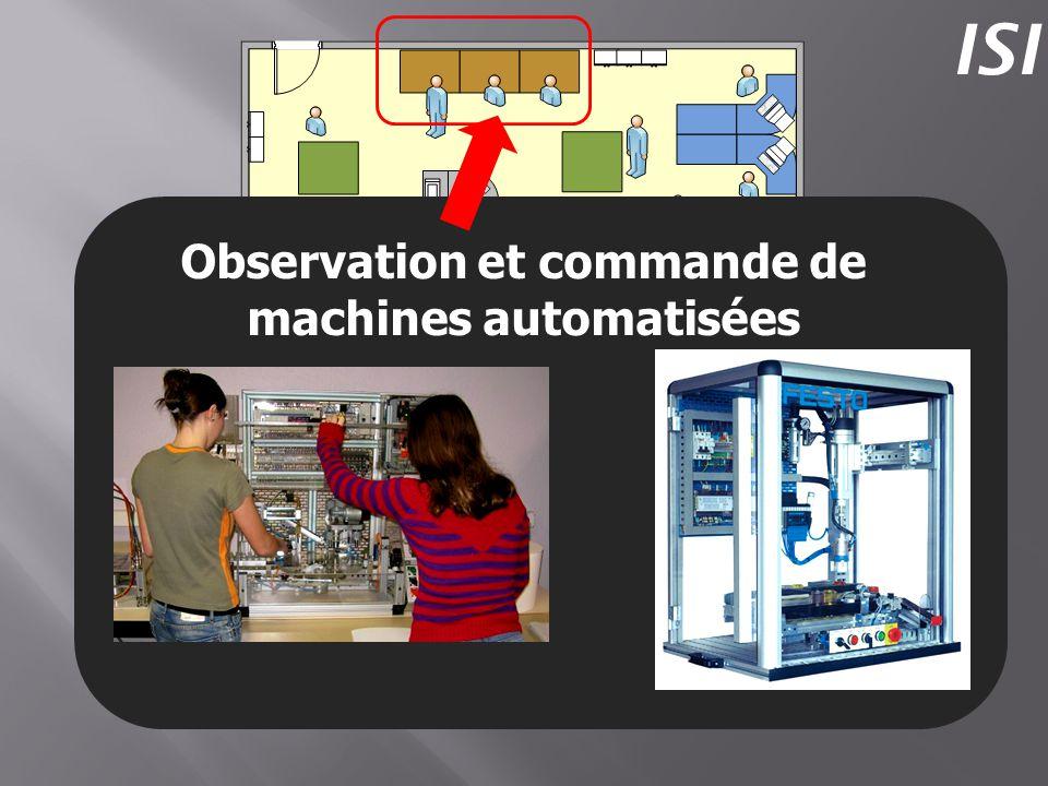 Observation et commande de machines automatisées ISI
