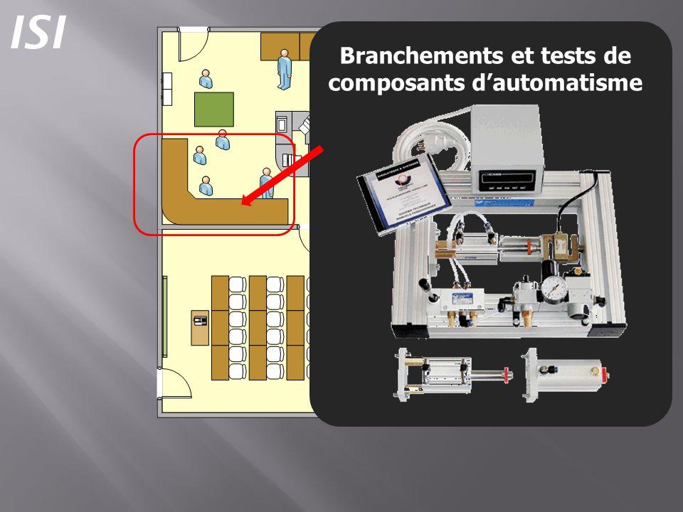 Branchements et tests de composants dautomatisme ISI