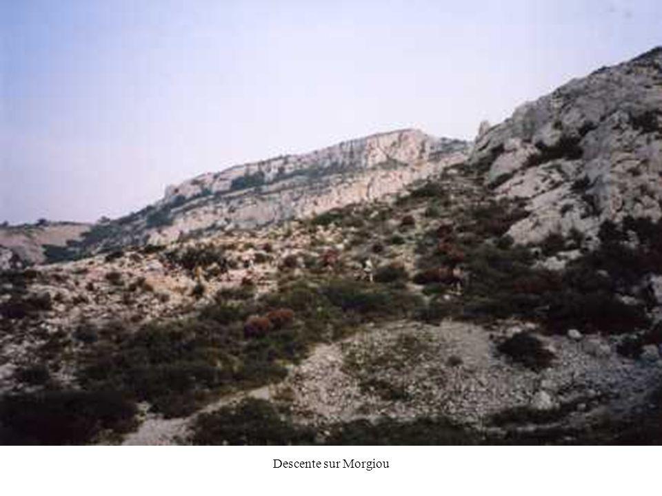 Descente sur Morgiou