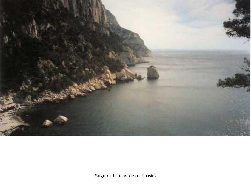 Sugiton, la plage des naturistes