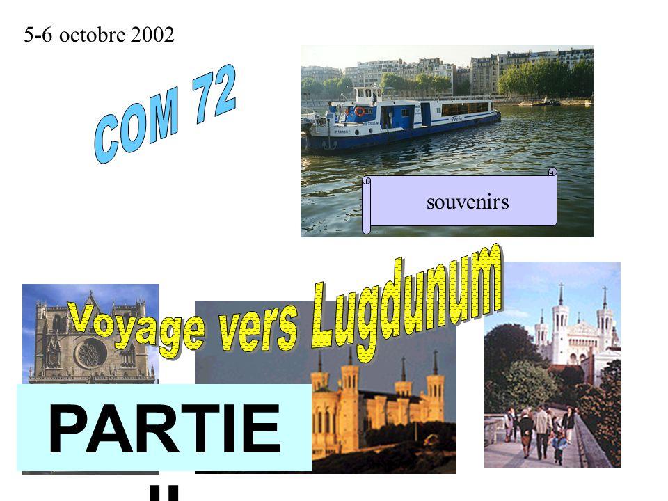 5-6 octobre 2002souvenirs PARTIE II