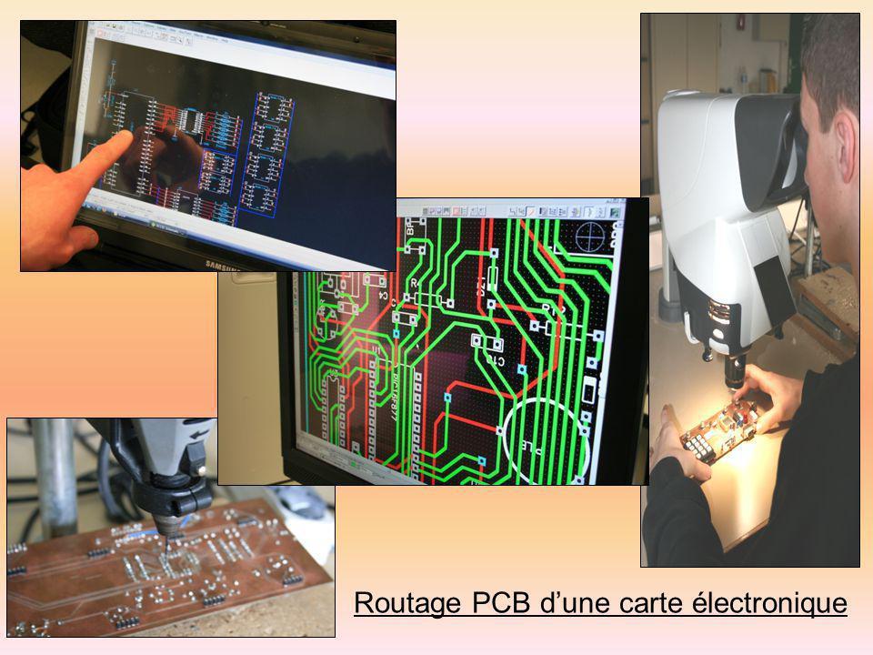 Routage PCB dune carte électronique