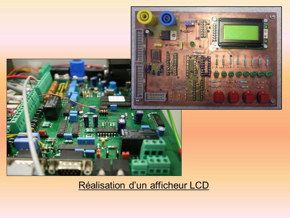 Réalisation dun afficheur LCD