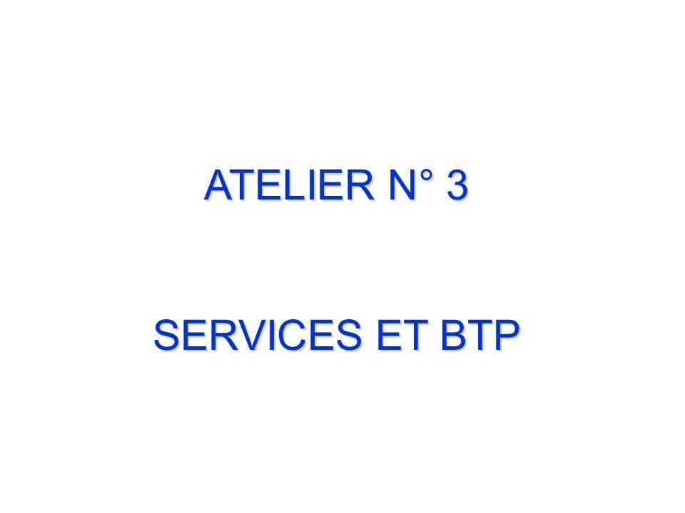 ATELIER N° 3 SERVICES ET BTP