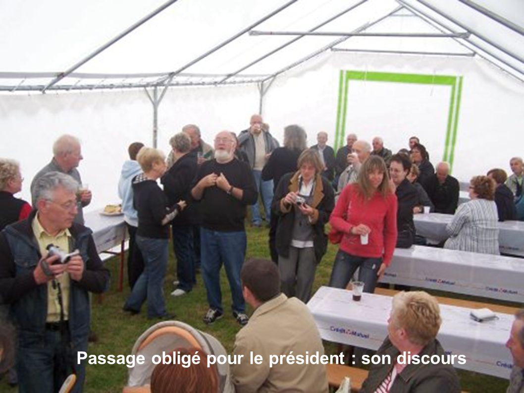 Passage obligé pour le président : son discours