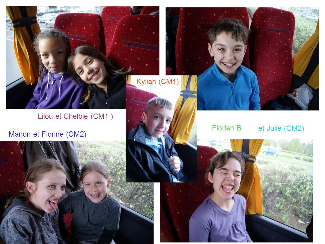 Lilou et Chelbie (CM1 ) Manon et Florine (CM2) Florian B et Julie (CM2) Kylian (CM1)