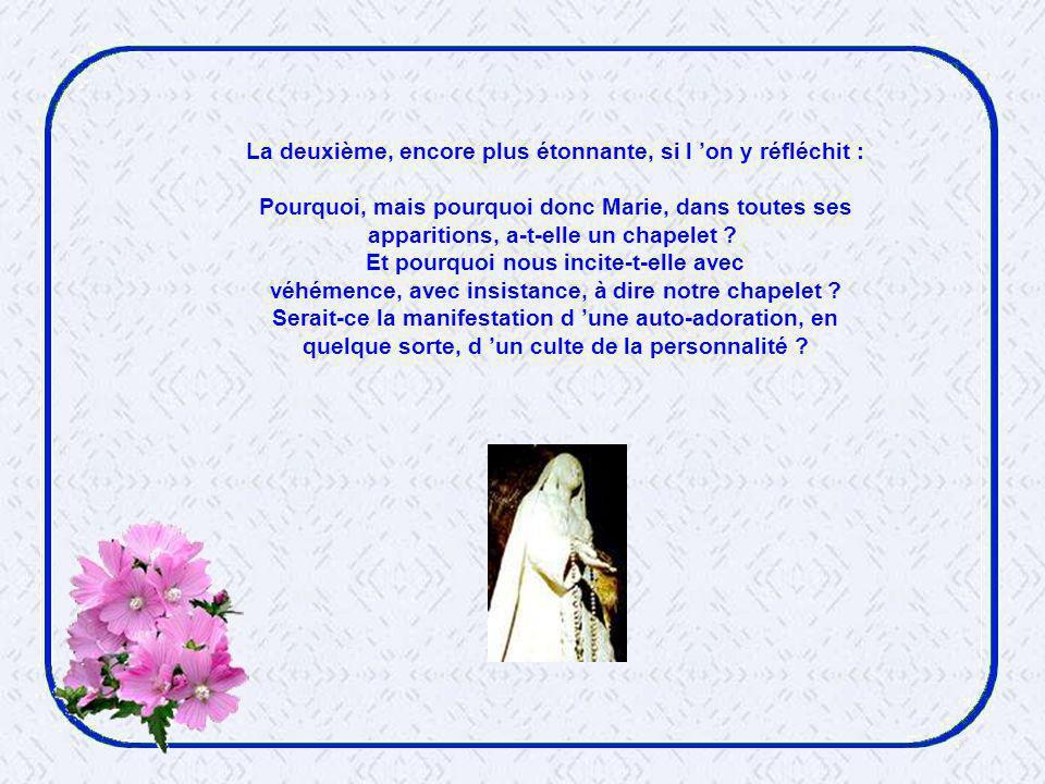A la lumière de tout ce qui précède, nous comprenons également que le Pape ait aimé proposer à notre méditation les mystères lumineux, comblant ainsi un « trou » dans le déroulement du rosaire, où nous passions sans sourciller de l enfance à la mort de Jésus, gommant allègrement la vie publique.