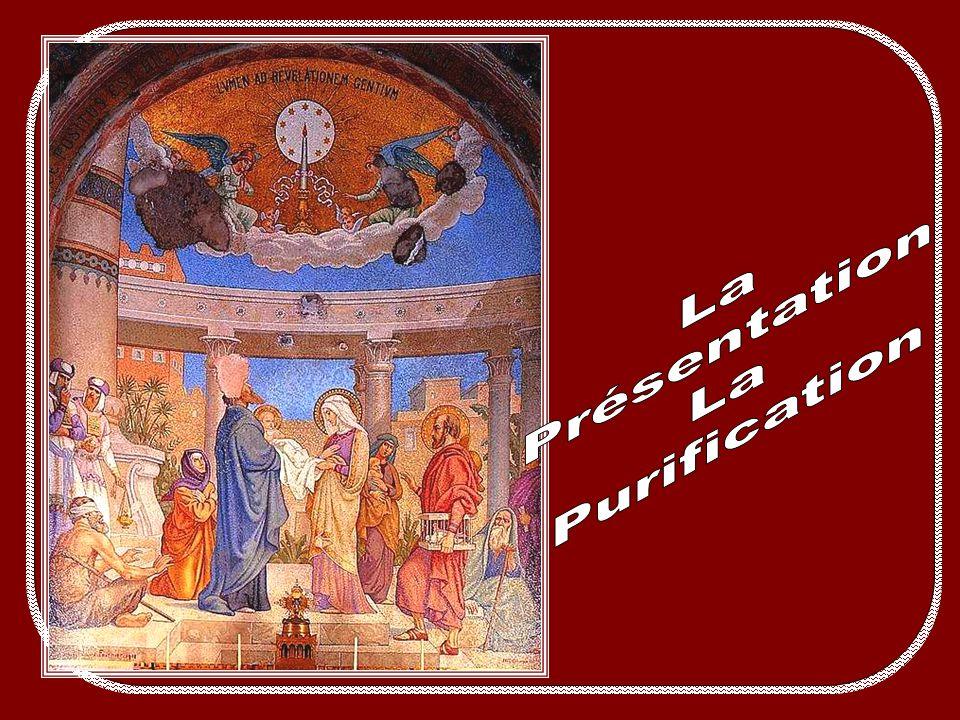 Fruit du mystère : la pauvreté du cœur En entrant dans le monde, le Christ aurait pu dire, comme lauteur inspiré : «de sacrifice et doffrande tu nas p