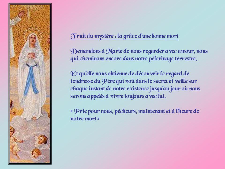 Marie a-t-elle connue la mort physique . Est-elle passée directement de ce monde au ciel .