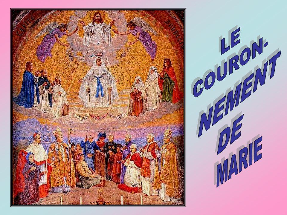 Fruit du mystère : la grâce dune bonne mort Demandons à Marie de nous regarder avec amour, nous qui cheminons encore dans notre pèlerinage terrestre.