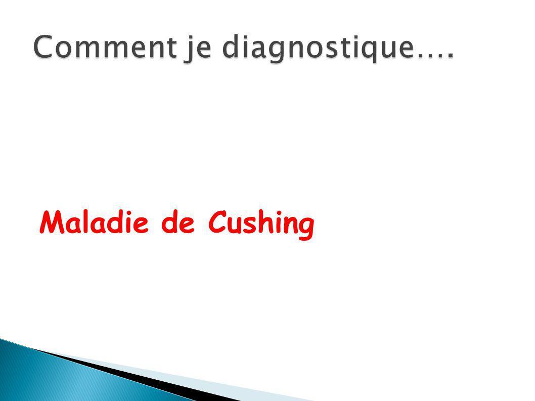 Maladie de Cushing