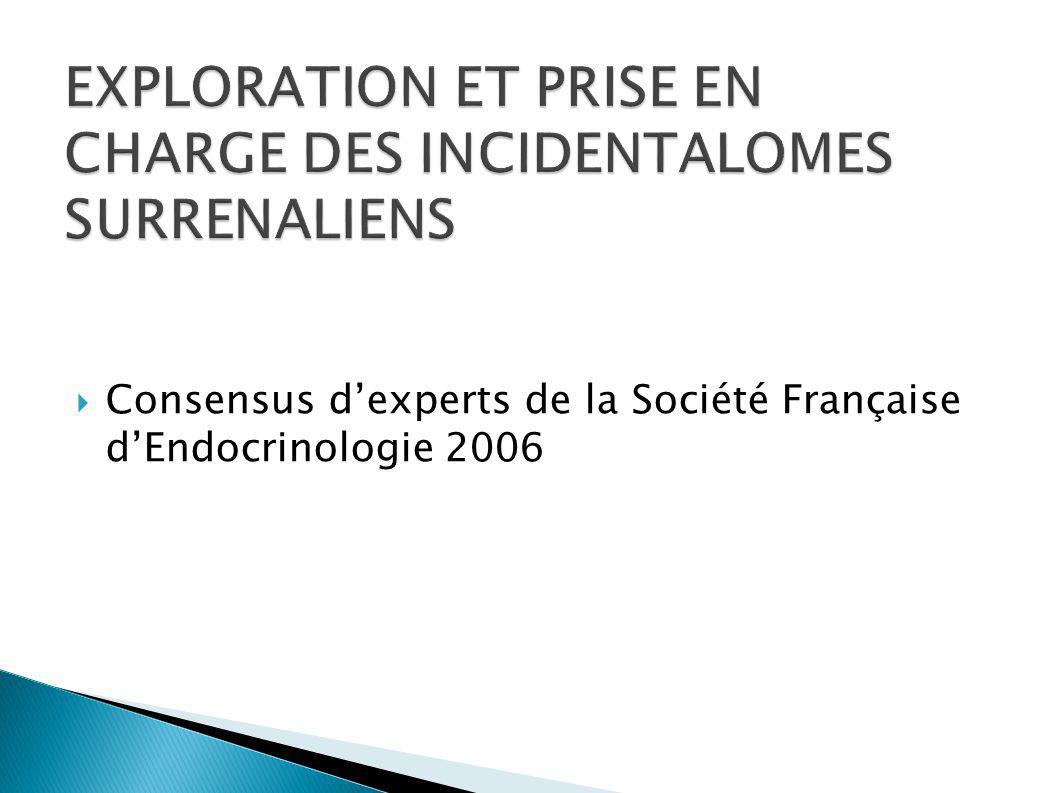 Consensus dexperts de la Société Française dEndocrinologie 2006