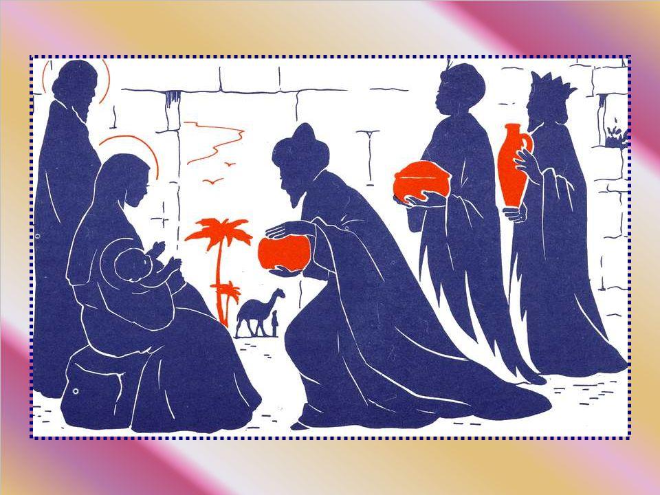 Ils prirent, à leur arrivée, quelques renseignements sur le roi qui venait de naître, avec pour mission de revenir pour dire où il se trouvait.