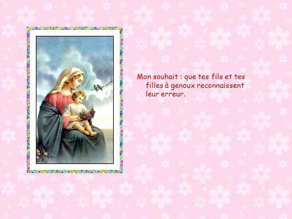 Ton Oui, belle et douce Dame, est et sera pour l éternité le Oui de la Vie pour la Vie et à la Vie.