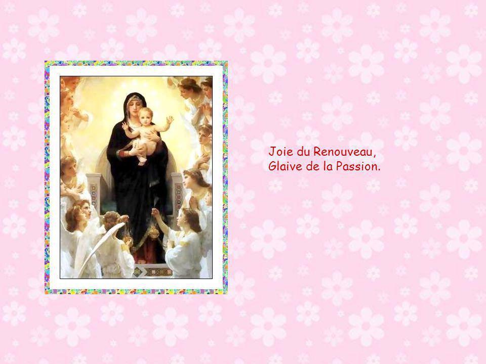 Joie du Renouveau, Glaive de la Passion.