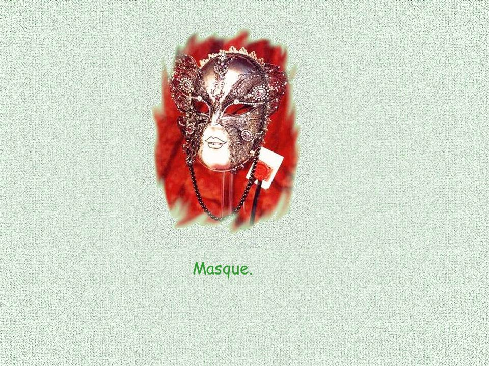 Masque de souffrance, Masque de joie, Masque ironie, Masque défi,