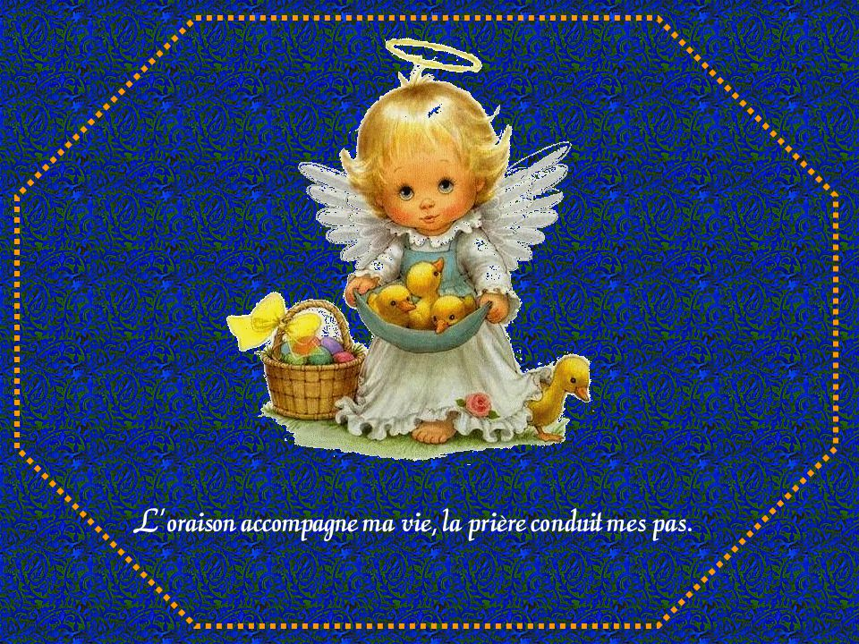 Mon Maître de cœur habite parmi les anges, Il les gouverne, Il les accompagne.