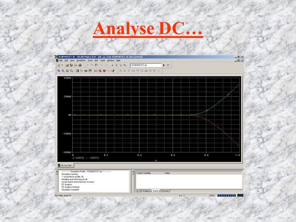 Analyse DC…