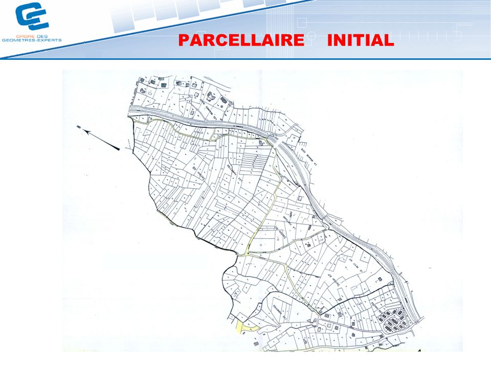 PARCELLAIRE INITIAL