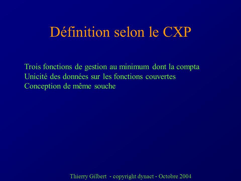 Thierry Gilbert - copyright dynact - Octobre 2004 Les foyers de « résistance » Intégration pas évidente pour la trésorerie, la relation client (call c